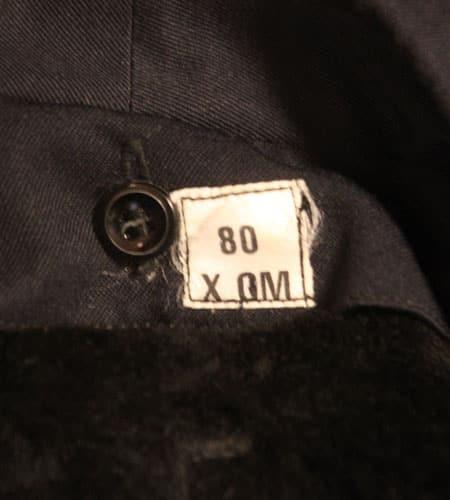[古着/USED] 70's  デッドストック フランス軍 ライナー付き ステンカラーコート