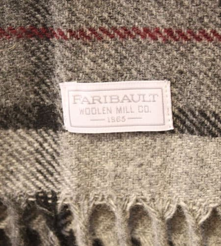 [新品] 65's アメリカ製 FARIBAULT チェック マフラー