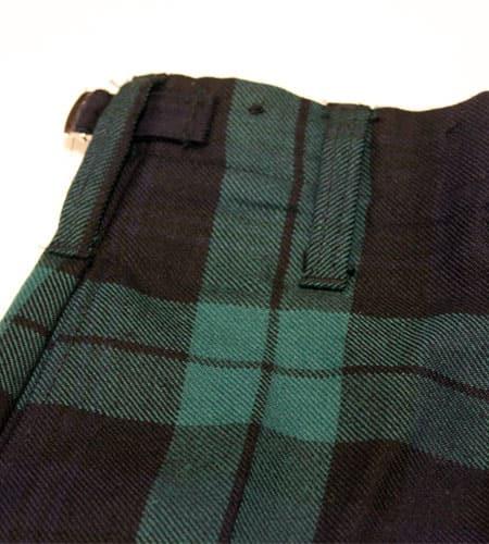[古着/USED] 70's スコットランド製 デッドストック イギリス軍 タータンチェック ウールパンツ