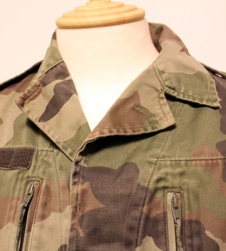 [古着/USED] 80's  フランス軍 迷彩柄 F2ジャケット