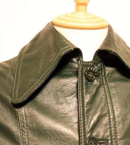 [古着/USED] 70's イタリア製 ラムナッパレザージャケット