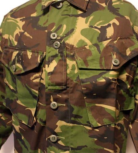 [古着/USED] 80's  イギリス軍 迷彩 シャツジャケット