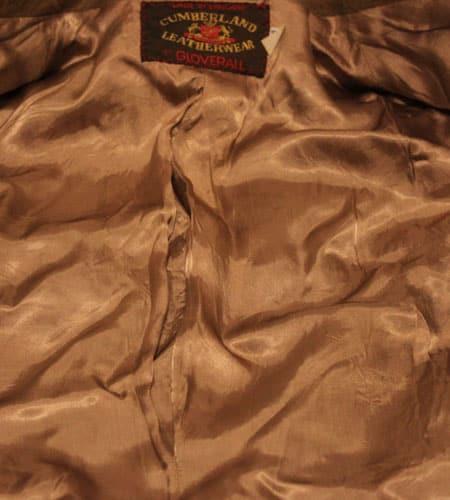 [古着/USED] 70's イングランド製 グローバーオール シープスキン レザージャケット