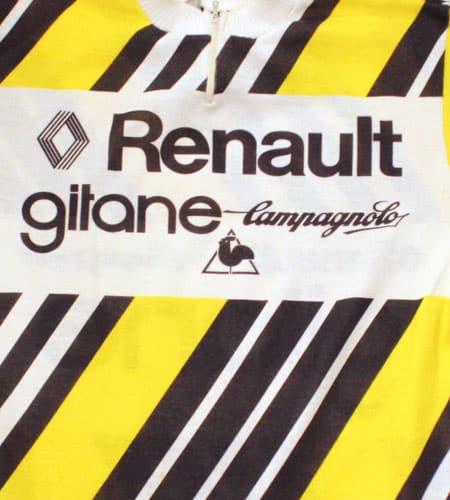[古着/USED] 70's フランス製 ルノー×ジタン×カンパニョーロ×ルコック サイクリングジャージ