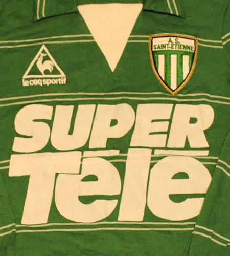 [古着/USED] 80's フランス製 デッドストック ASサンティエンヌ ルコック サッカーシャツ