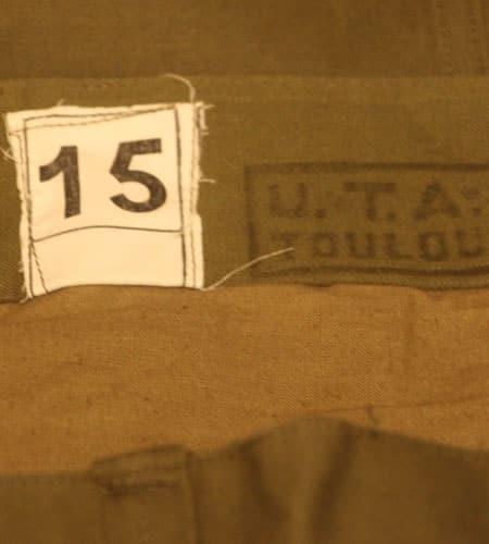 [古着/USED] 40's  デッドストック フランス軍 ヘリンボーン 前期 M47パンツ