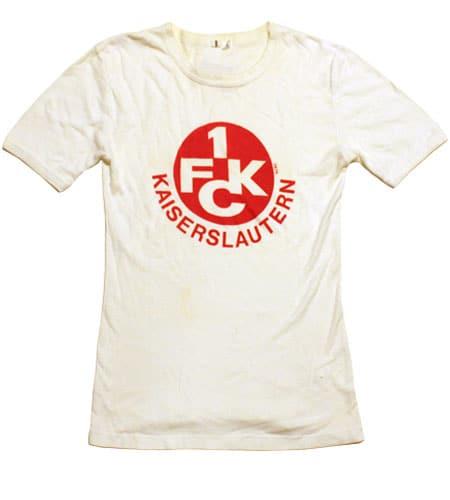 [古着/USED] 70's 西ドイツ製 FCカイザースラウテルン ユーロTシャツ