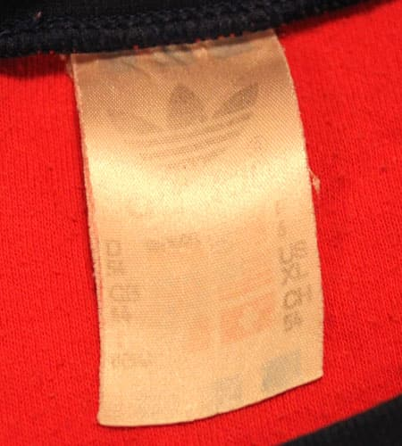 80's  UK製 アディダス リンガーTシャツ