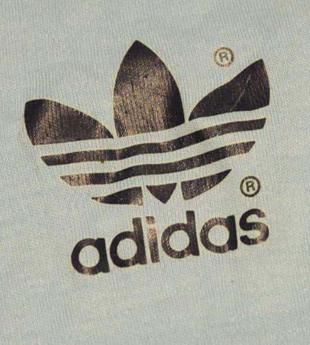 [古着/USED] 80's アイルランド製 アディダス リンガーTシャツ