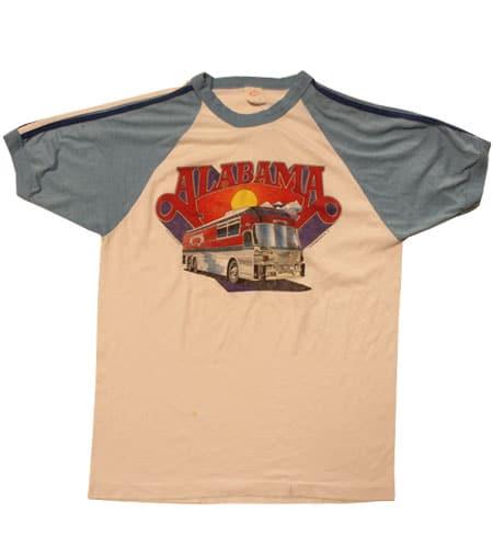 アラバマ ツアーTシャツ