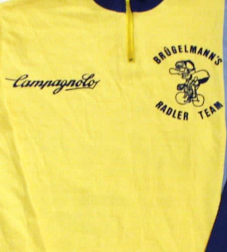 [古着/USED] 70's ドイツ製 カンパニョーロ×BRUGELMANNS サイクリングジャージ