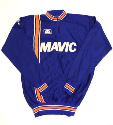 [古着/USED] 70's フランス製 MAVIC サイクリングジャージ