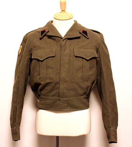 ベルギー軍 ウール アイクジャケット