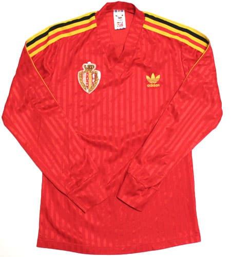 ベルギー代表 サッカーシャツ