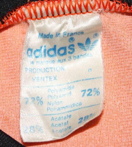 70's フランス製 アディダス サッカーシャツ