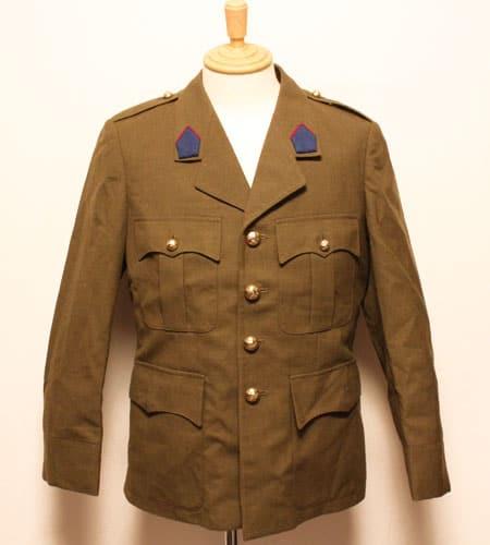 [古着/USED] 71's  デッドストック ベルギー軍 オフィサージャケット