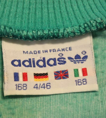 80's フランス製 アディダスジャージ