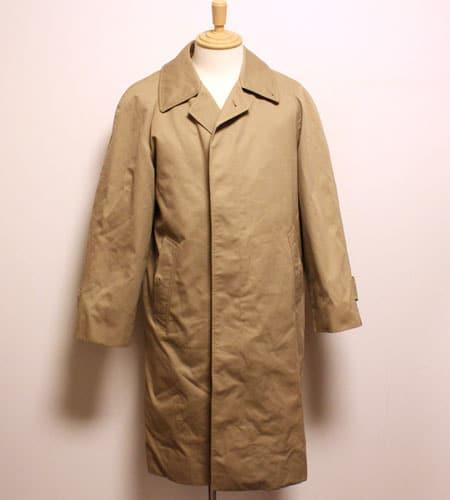 [古着/USED] 80's イングランド製 ジョンスウィーニー ステンカラーコート