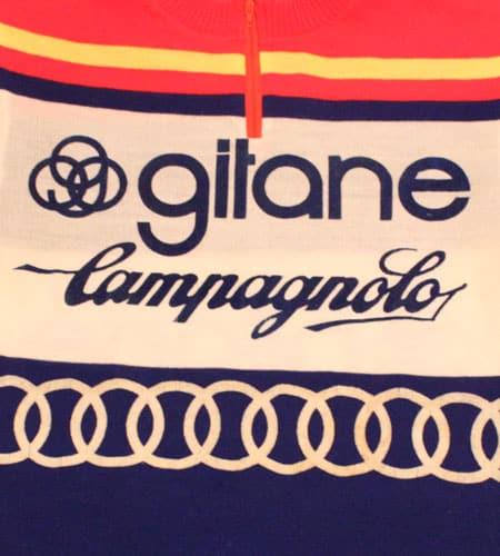 [古着/USED] 70's フランス製 ジタン カンパニョーロ サイクリングジャージ