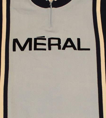 [古着/USED] 70's フランス製 meral リバースウィーブ サイクリングジャージ