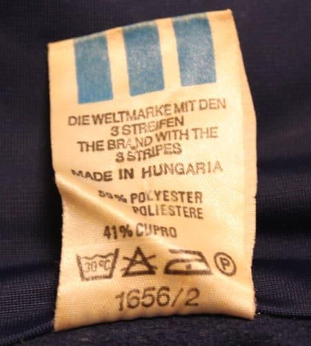 [古着/USED] 80's ハンガリー製 アディダス 曲りポケット
