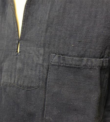 60's  デッドストック スペイン軍 セーラーシャツ