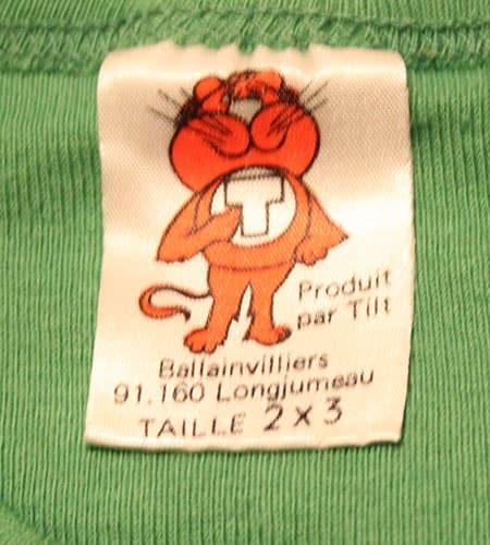 [古着/USED] 70's フランス製 TILT ユーロTシャツ