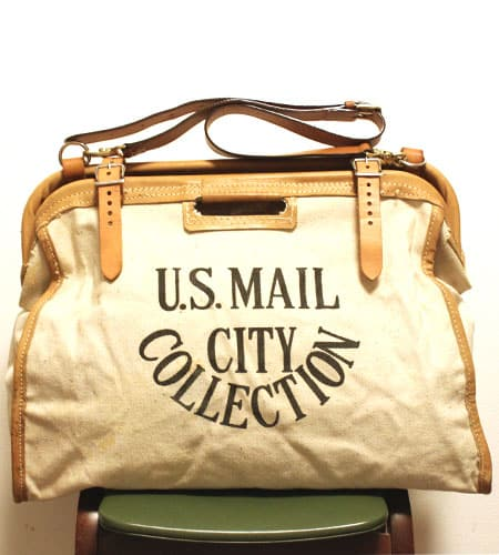 US MAIL CITY COLLECTION メールバッグ
