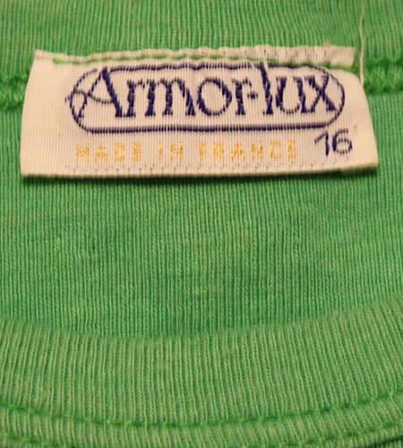 [古着/USED] 70's フランス製 アルモリュクス ユーロTシャツ