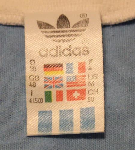 [古着/USED] 80's アイルランド製 アディダスTシャツ