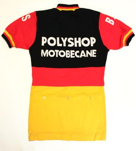 [古着/USED] 70's フランス製 モトベカン サイクリングジャージ