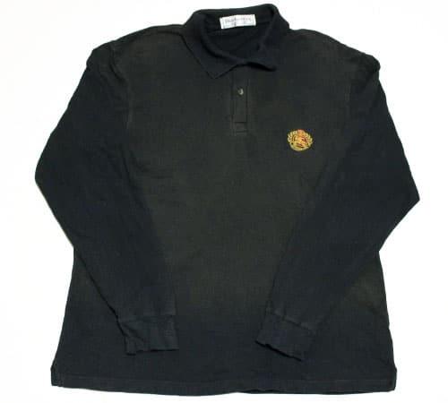 [古着/USED] 80's イングランド製 バーバリー ロングスリーブ ポロシャツ