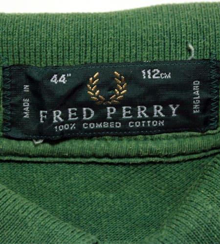 [古着/USED] 80's イングランド製 フレッドペリー ポロシャツ
