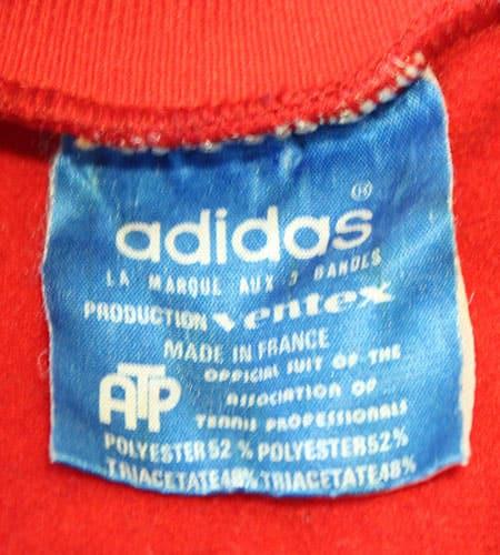 [古着/USED] 70's フランス製 アディダス ATP ジャージ
