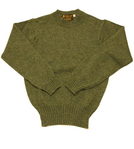 ミントグリーン グレニュギー セーター
