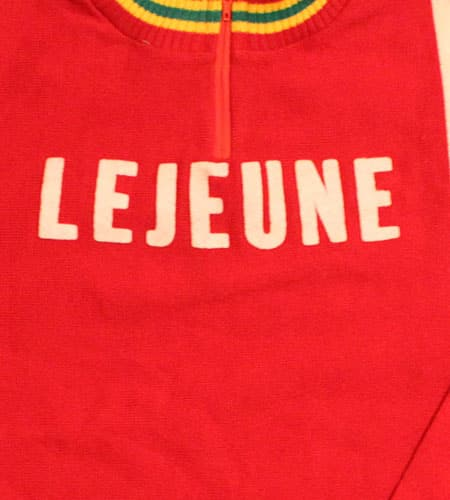 70's フランス製 リバースウィーブ ルジューヌ サイクリングジャージ