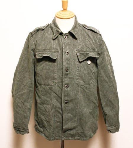 スイス軍 デニムワークジャケット