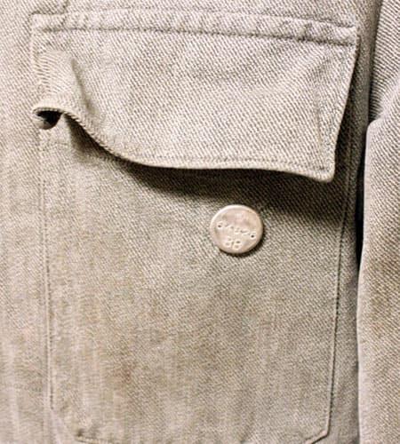 [古着/USED] 50's  スイス軍 デニムワークジャケット