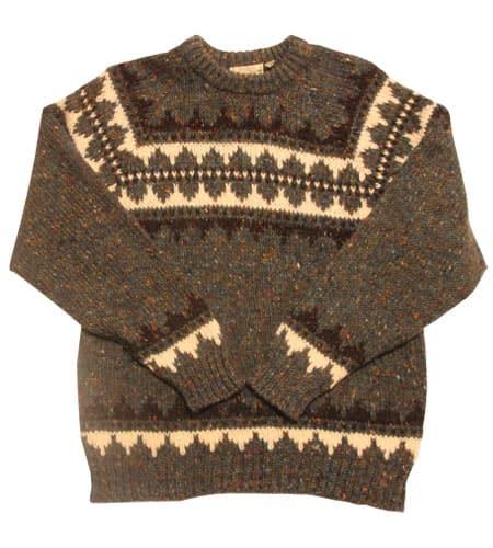 デッドストック アイルランド製 ドネガルヤーン セーター