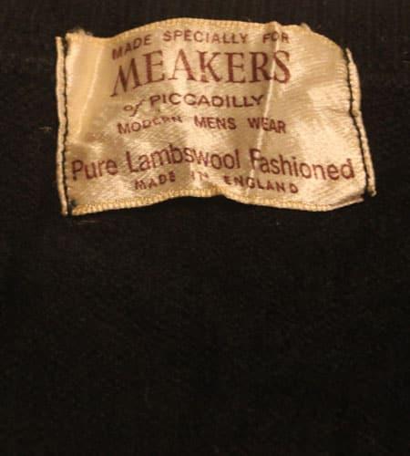 [古着/USED] 70's イングランド製 ラムウールセーター