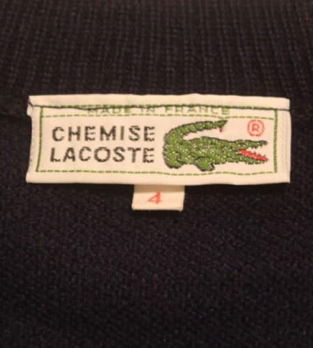 [古着/USED] 70's フランス製 デッドストック ラコステ ベスト