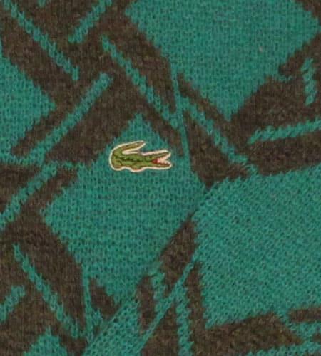 [古着/USED] 70's フランス製 デッドストック ラコステ セーター
