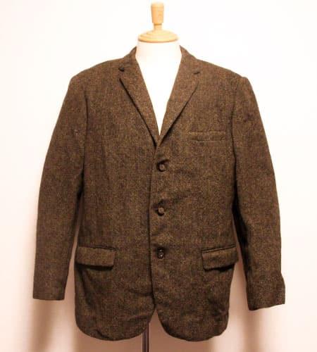[古着/USED] 60's イングランド製 アレクサンドラ ハリスツイード3B ツイードジャケット
