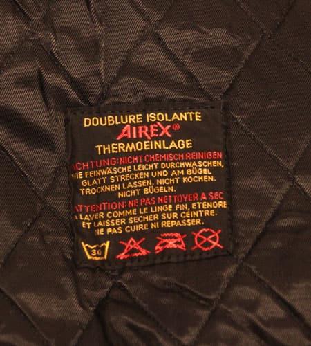[古着/USED] 70's  デッドストック スイス軍 キルティングライナージャケット