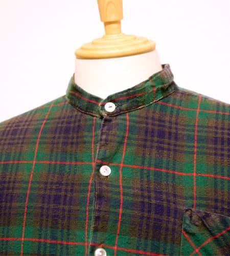 [古着/USED] 80's ドイツ製 グランパシャツ