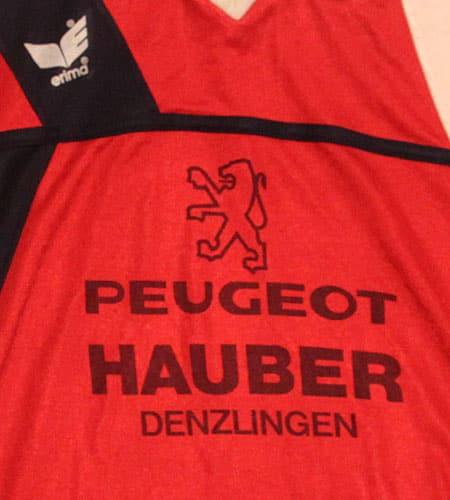 [古着/USED] 80's 西ドイツ製 erima プジョー サッカーシャツ