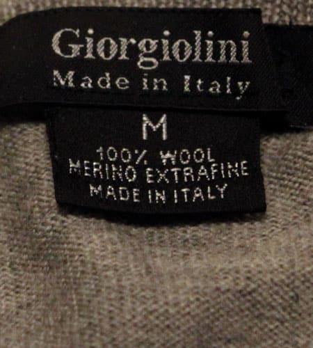 [古着/USED] 80's イタリア製 メリノウールセーター