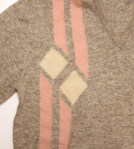 [古着/USED]  スコットランド製 ラムウールセーター