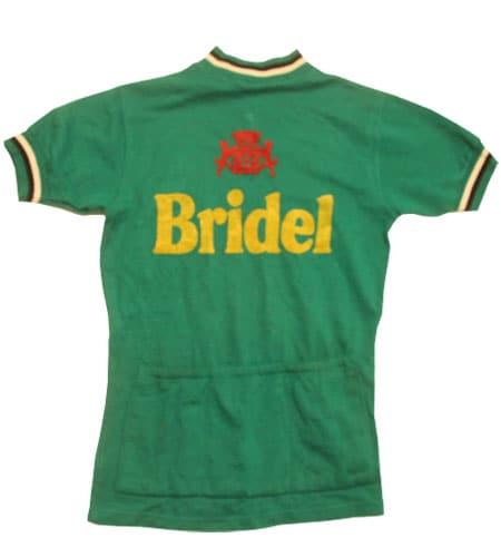 [古着/USED] 70's フランス製 BRIDEL サイクリングジャージ