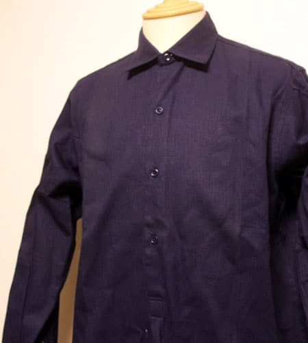 70's  デッドストック アドルフラフォン ロングワークシャツ
